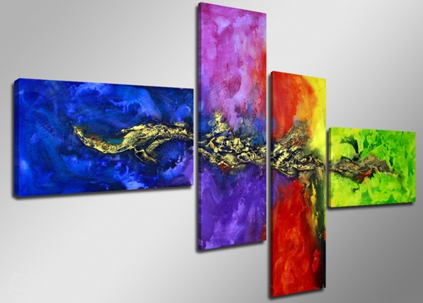 Neljaosaline seinapilt Draakon ED-66696