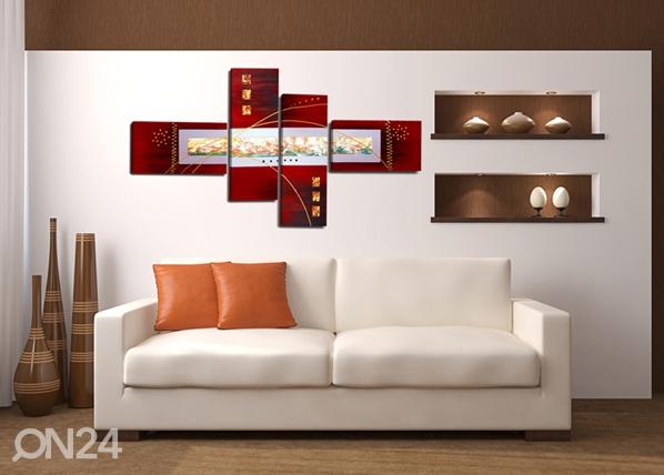 Neljaosaline seinapilt Rõõm ED-66705