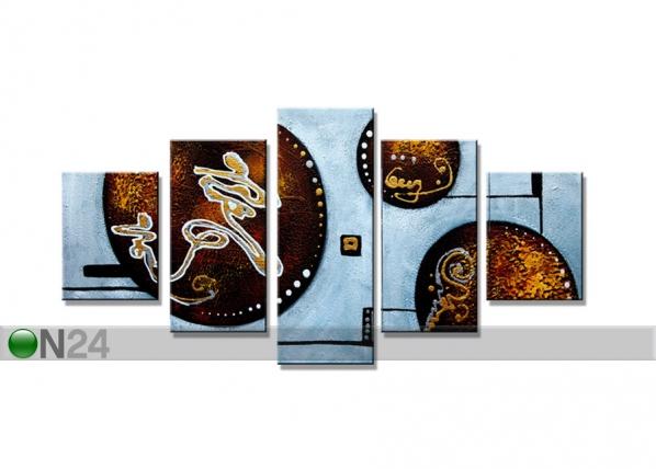 Viieosaline seinapilt Ringid ED-67237