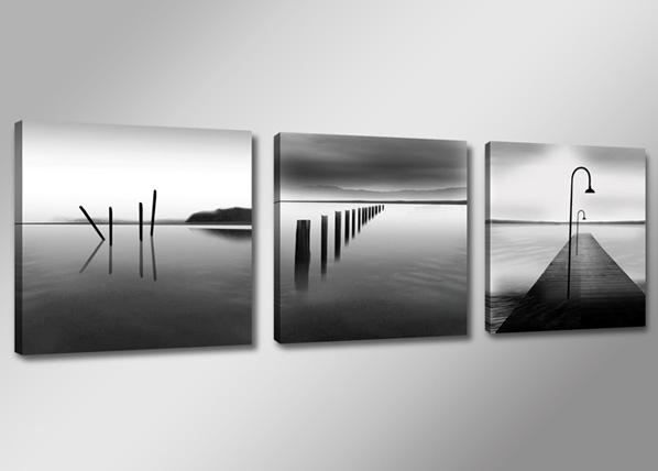 Kolmeosaline seinapilt Järv ED-67549