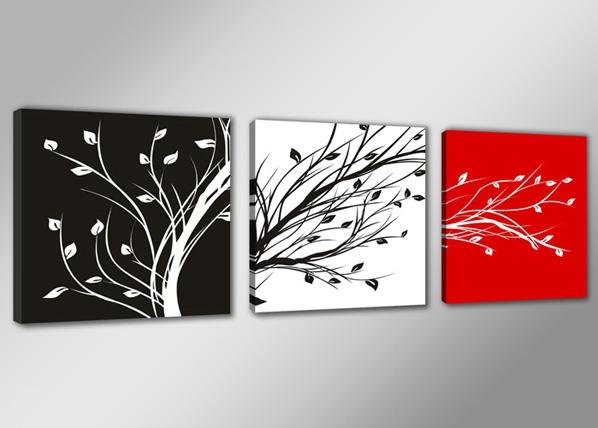 Kolmeosaline seinapilt Oksad ED-67551