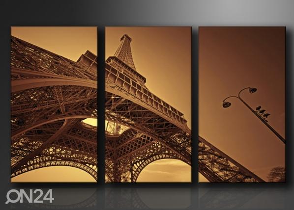 Kolmeosaline seinapilt Eiffeli torn ED-67570