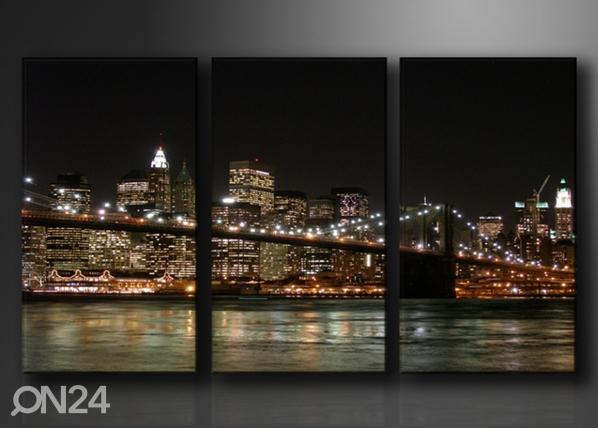 Kolmeosaline seinapilt New York ED-67578