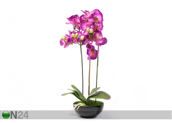 Kunstlill Roosa orhidee 72 cm EV-69042