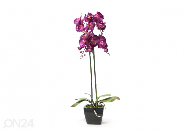 Kunstlill Roosa orhidee 78 cm EV-69044