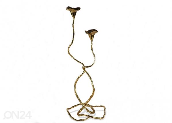 Küünlajalgade komplekt Eden 2-ne, kuldne A5-69364