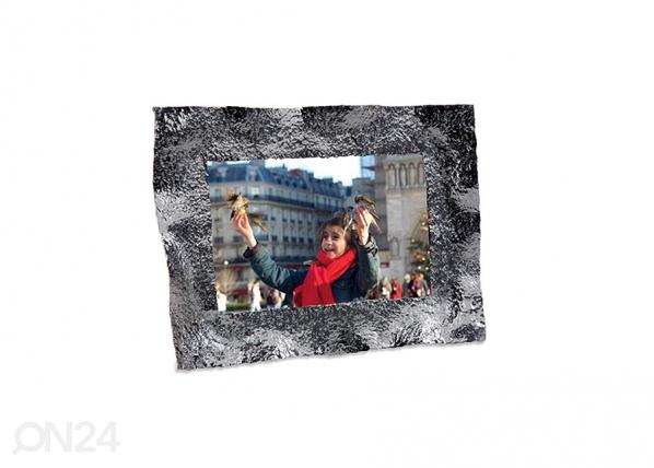 Pildiraam Crumpled väike, kroom A5-69500