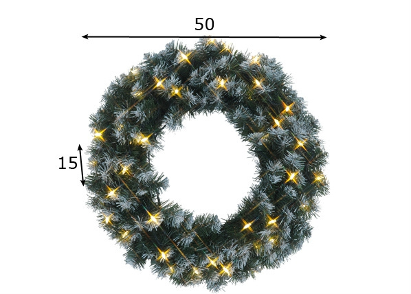 Jõulupärg LED tuledega AA-70127