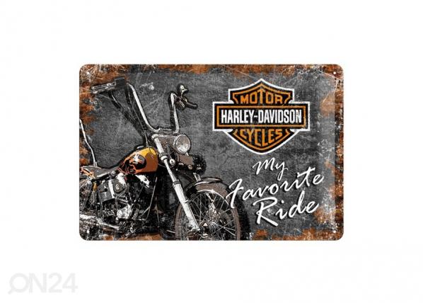 Retro metallposter Harley-Davidson My Favorite Ride 20x30cm SG-70330