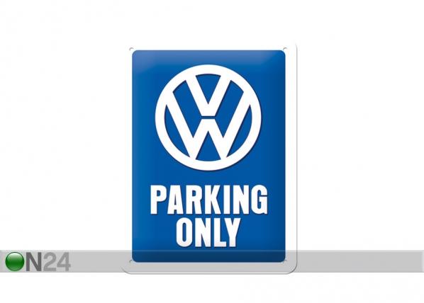 Retro metallposter Parking Only SG-70334