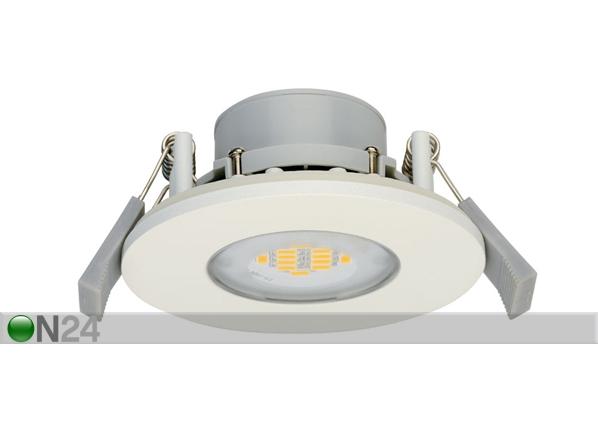 LED ripplaevalgusti IP65 süvistatav RGB puldiga 6,5W EW-70338