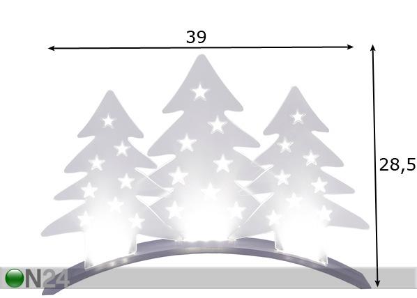 Jõulukaunistus Plexi AA-70461