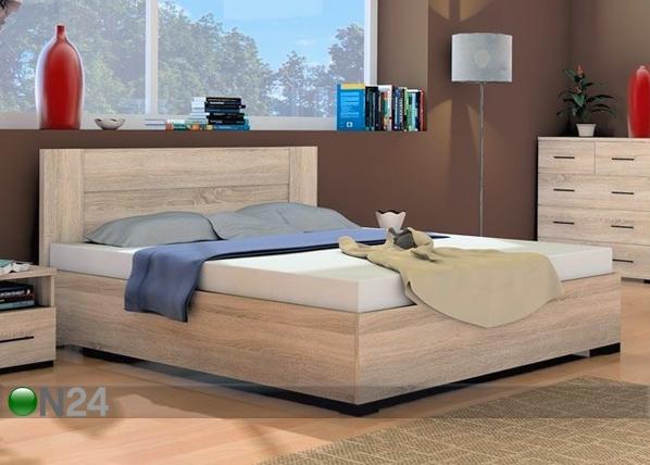 Pesukastiga voodi Inova 160x200 cm RM-70743