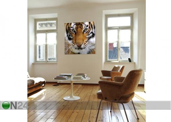 Seinapilt Tiger 120x120 cm QA-72114