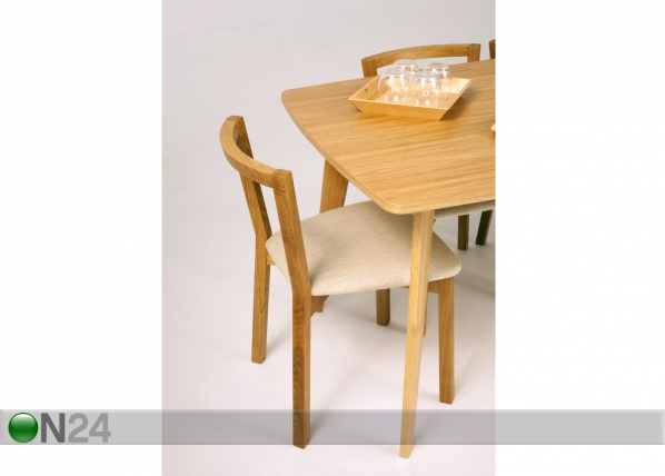 Toolide komplekt Cee Dining Chair H, 2 tk WO-73393