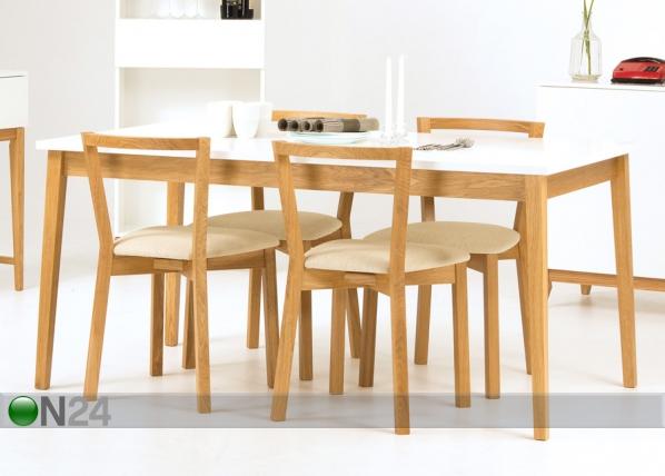 Söögilaud Blanco Dining Table 90x165 cm WO-73405