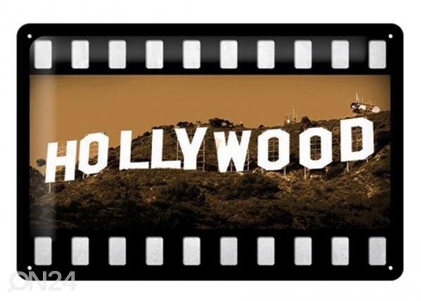 Retro metallposter Hollywood 20x30cm SG-73496