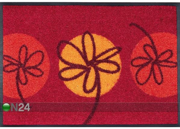Vaip Fleurette rouge 40x60 cm A5-74162