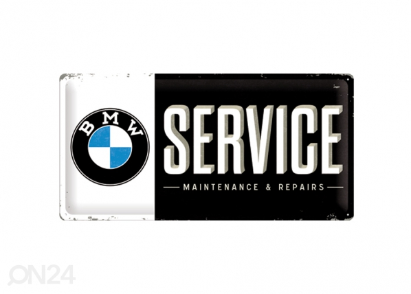 Retro metallposter BMW Service 25x50cm SG-74249