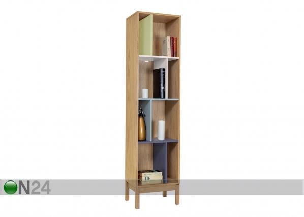 Riiul Abbey Wood Offset Bookcase WO-74846
