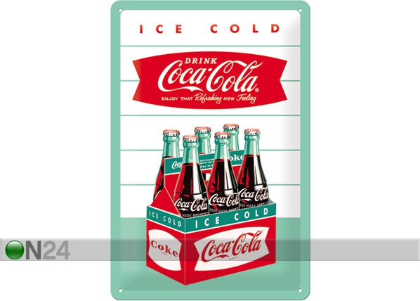 Retro metallposter Coca-Cola Ice cold 20x30cm SG-78406