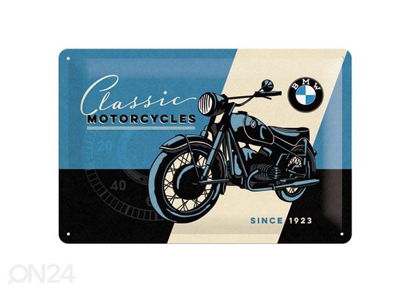Retro metallposter BMW Classic Motorcycles 20x30 cm SG-80063