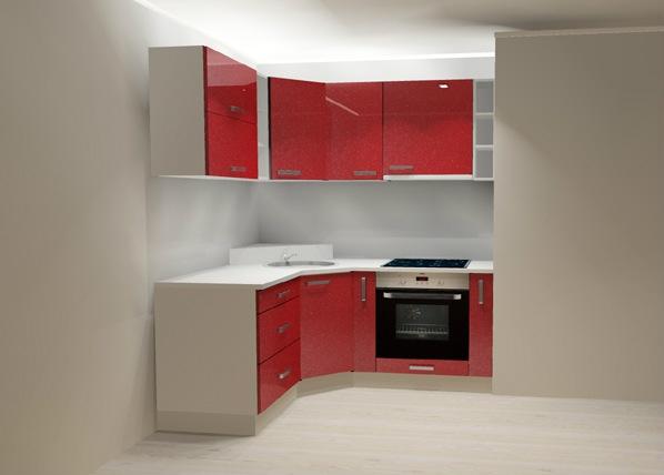 Kõrgläikega köök AR-81157