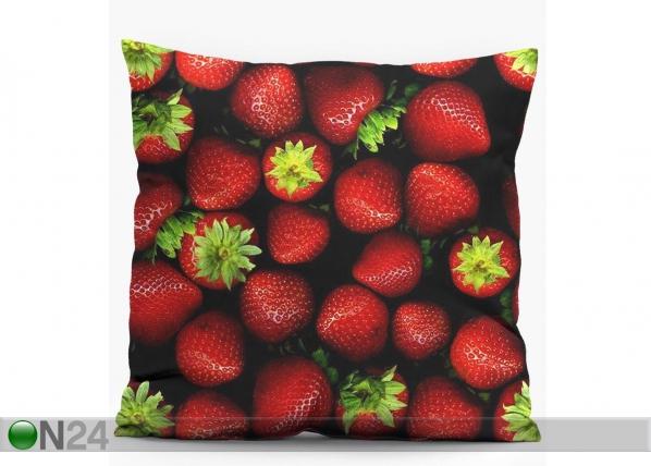 Dekoratiivpadi Strawberries 38x38 cm CX-82524