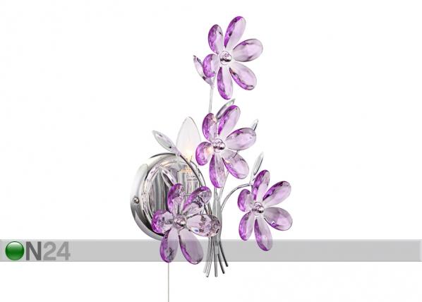 Seinavalgusti Purple EW-82618