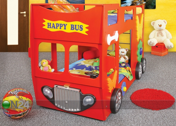 Narivoodi komplekt Happy Bus 90x190 cm TF-83328