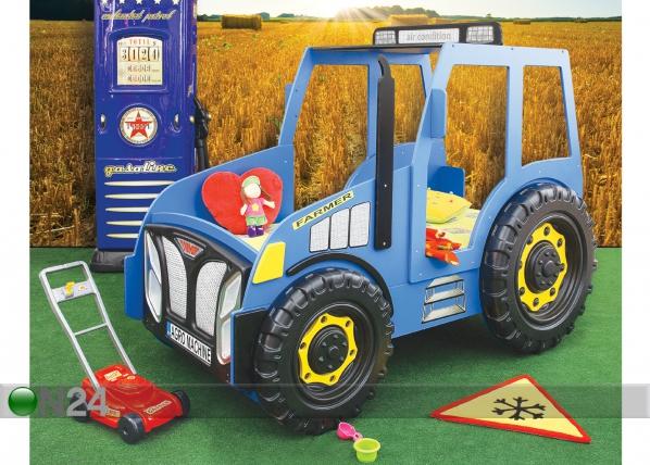 Lastevoodi komplekt Traktor 90x180 cm TF-83392