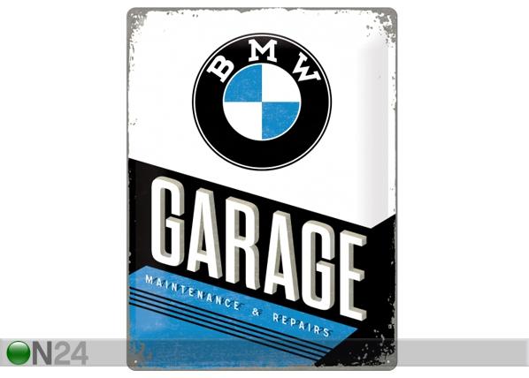 Retro metallposter BMW Garage 30x40 cm SG-84349