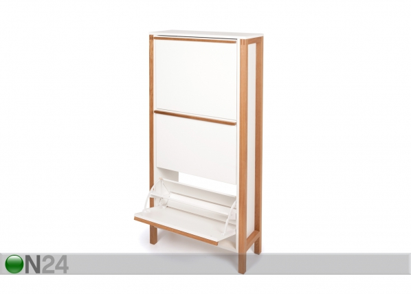 Jalatsikapp Northgate Shoe Cabinet 3 Door WO-85660