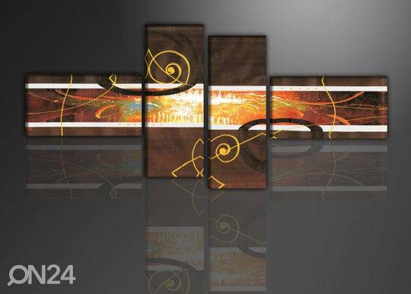 Neljaosaline õlimaal Muusika 195x80 cm ED-86563