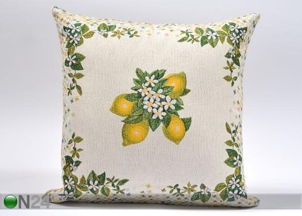 Gobeläänkangast dekoratiivpadi Lemon Tree 44x45 cm TG-86701