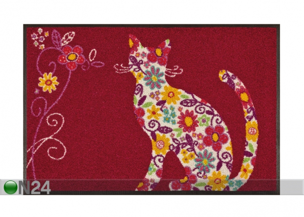 Vaip Flower Cat 50x75 cm A5-87157