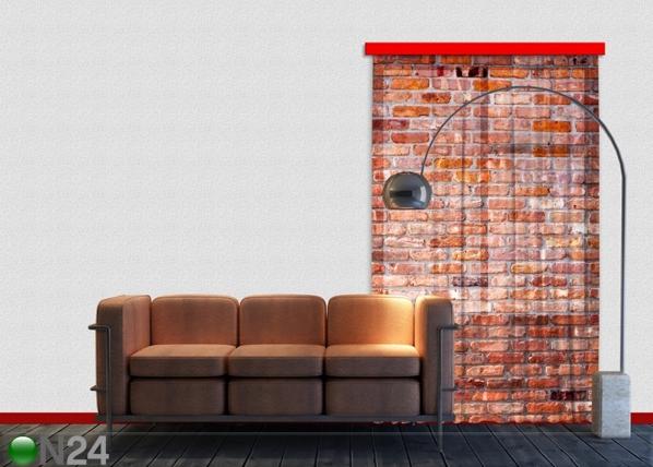 Fotokardin Red bricks 140x245 cm ED-87215