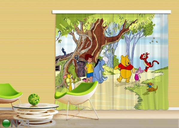 Poolpimendav fotokardin Disney Winnie the Pooh and Friends 280x245 cm ED-87334
