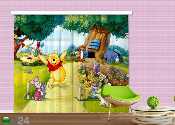 Poolpimendav fotokardin Disney Winnie the Pooh 280x245 cm ED-87337