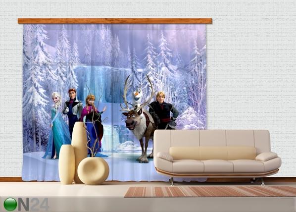 Poolpimendav fotokardin Disney Ice Kingdom ED-87343