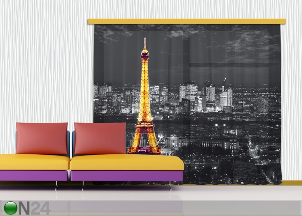 Poolpimendav fotokardin Paris by night 280x245 cm ED-87359
