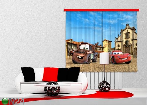 Poolpimendav fotokardin Disney Cars 180x160 cm ED-87383