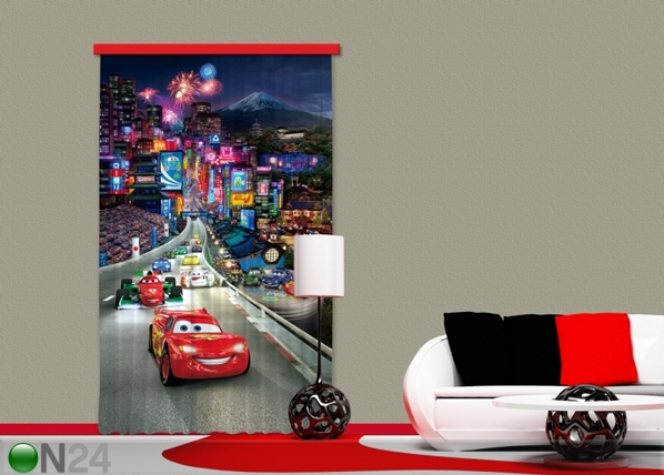 Poolpimendav fotokardin Disney Cars 140x245 cm ED-87413