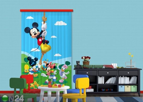 Poolpimendav fotokardin Disney Mickey on a rope 140x245 cm ED-87419