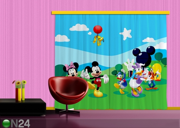 Pimendav fotokardin Disney Mickey and Friends 280x245 cm ED-87463