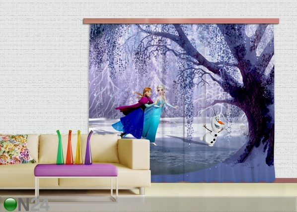 Pimendav fotokardin Disney Ice Kingdom 280x245 cm ED-87483