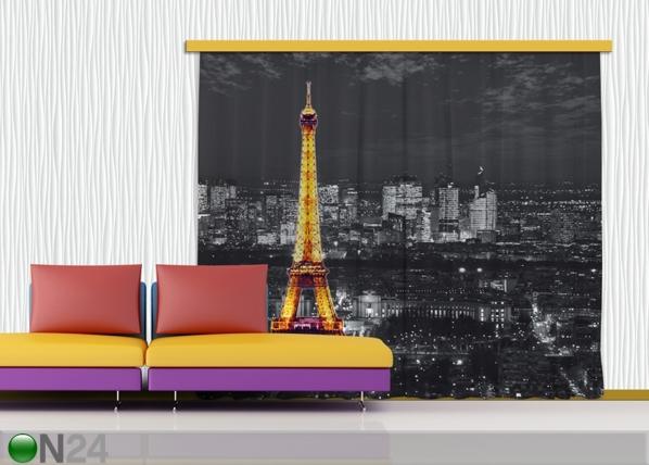 Pimendav fotokardin Paris by night 280x245 cm ED-87502