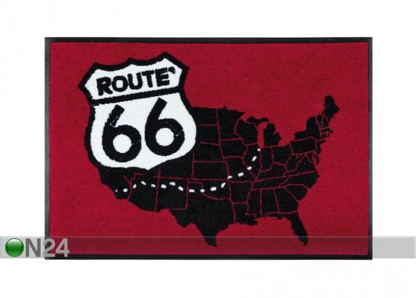 Vaip Road Map 50x75 cm A5-87626