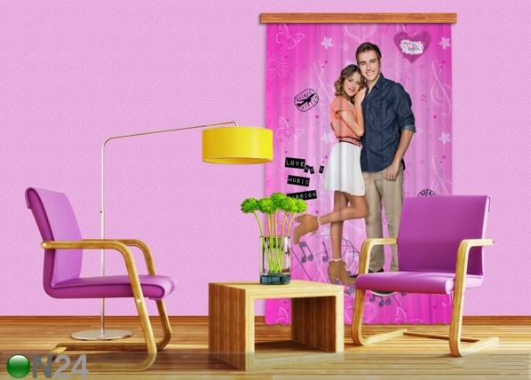Pimendav fotokardin Disney Violetta I 140x245 cm ED-87848