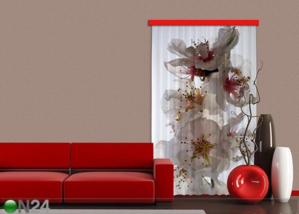Pimendav fotokardin Flowers I, 140x245 cm ED-87860